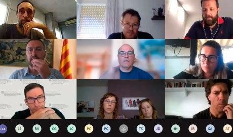 Reunió telemàtica de l'SGEAF amb entitats de lleida i l'Alt Pirineu