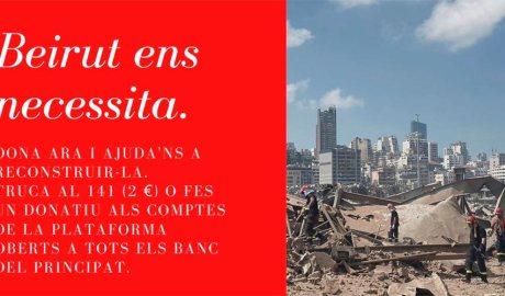 Campanya d'ajut a Beirut