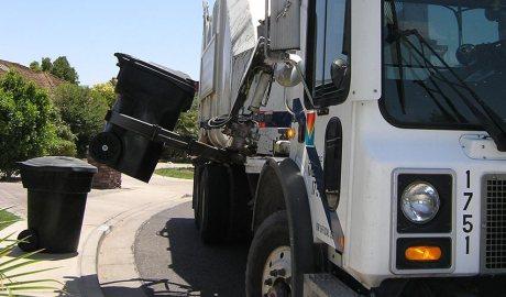 Camió d'escombraries