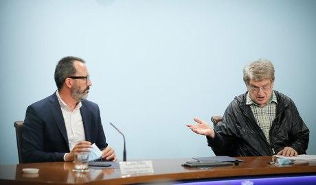 Victor Filloy i Fèlix Zapatero