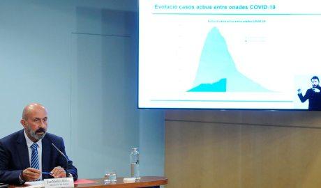 Joan Martínez Benazet amb un comparatiu de les corbes epidemiològiques de covid19