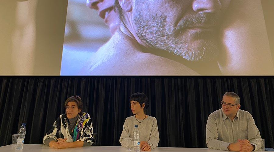 Josh Climent, Clàudia Riera i Jordi Torres presenten 'L'Ofrena'