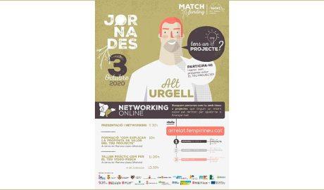 Cartell de les jornades de networking Arrela't de l'Alt Urgell