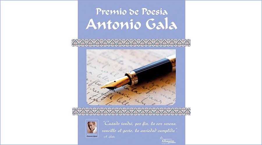 Cartell del Premi Internacional de Poesia Antonio Gala (Ay. Alhaurín el Grande