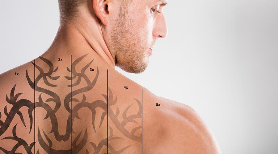 Home amb tatuatges