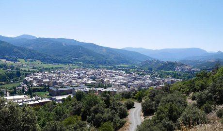 Vista general de la Seu d'Urgell