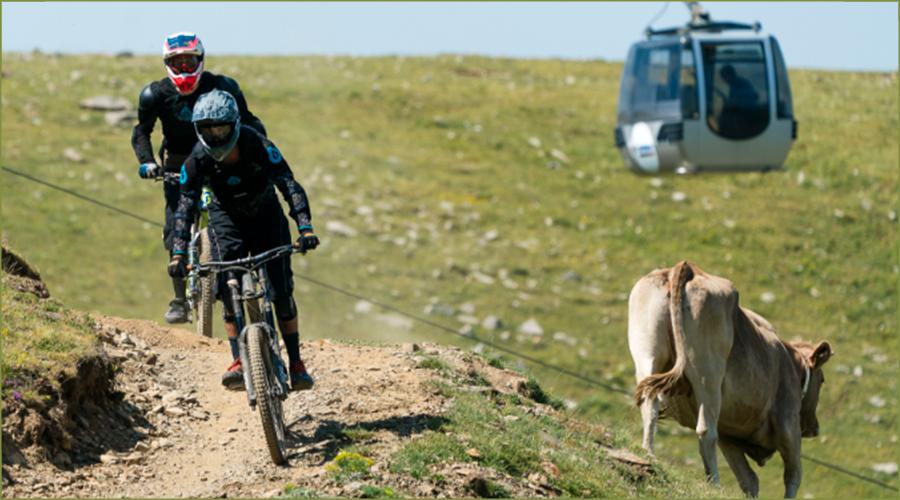 El Telecabina Cadí-Moixeró i el Bikepark, les activitats estrelles de l'estiu a la Molina
