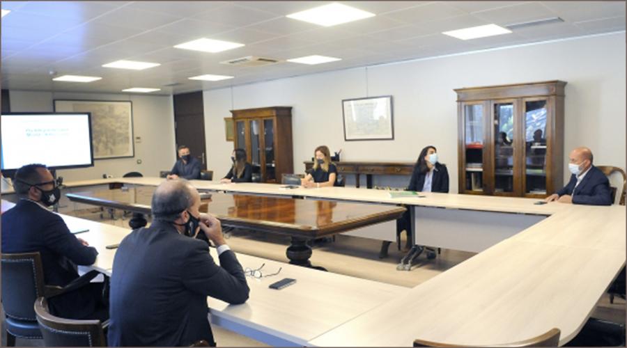 Reunió de treball per a l'elaboració del Pla Integral de Salut Mental i Addiccions