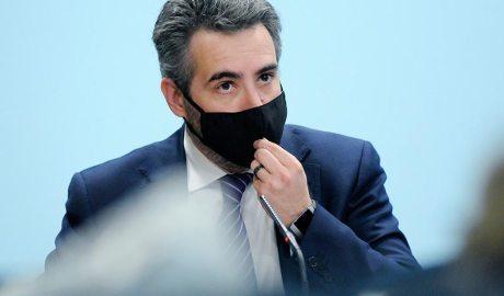 El ministre portaveu, Eric Jover