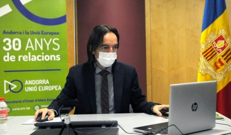 secretari d'Estat d'Afers Europeus, Landry Riba