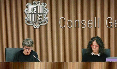 les conselleres generals, Susanna Vela i Judith Salazar
