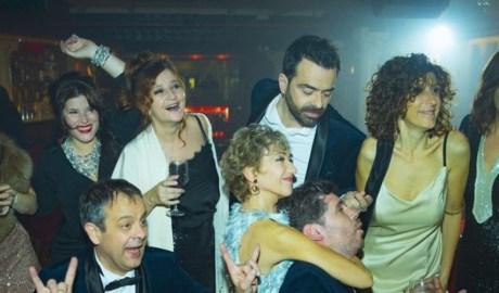 Els actors de l'obra 'Testimo si he begut'