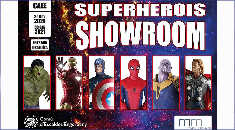 Exposició de superherois