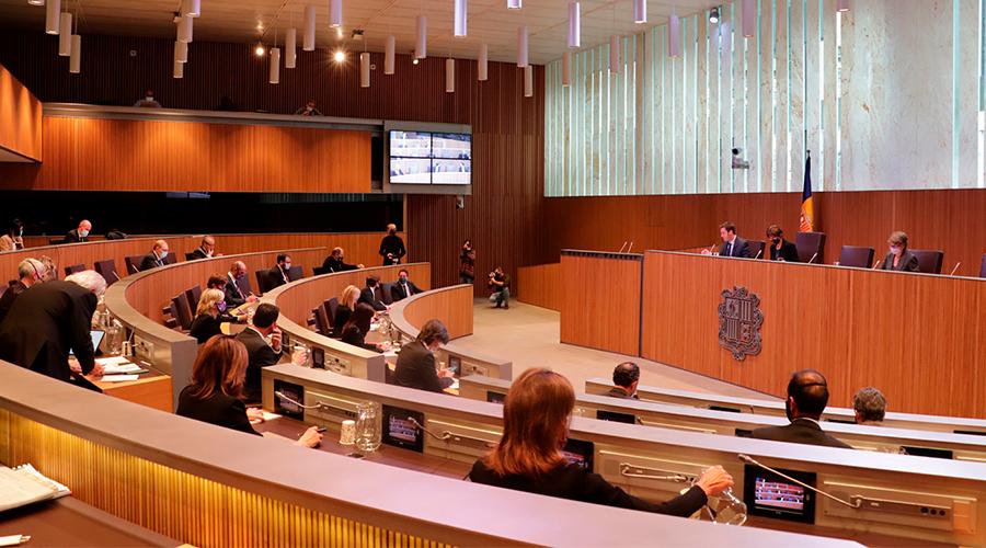 Sessió del Consell General.
