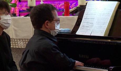 El pianista Nicolas Licciardi.