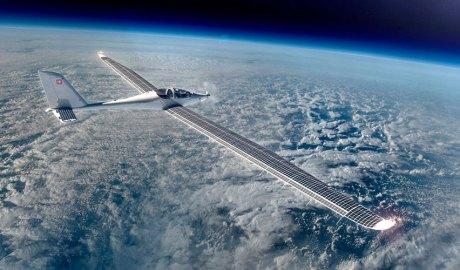 Avió estratosfèric amb energia solar