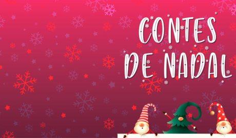 Part del cartell publicitari del 33è concurs de contes de Nadal
