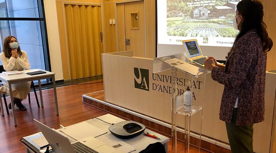 Alba Reguant defensa la tesi doctoral