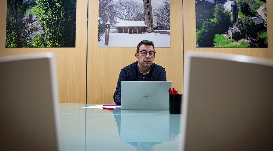 El conseller de Cultura i Promoció Turística, Miquel Canturri.