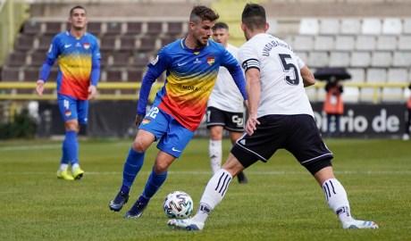 Partit de la Copa del Rei entre el Burgos i el FC Andorra.