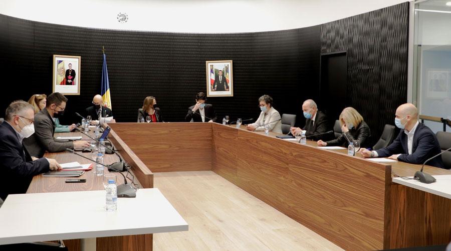 Una sessió del Consell de Comú d'Escaldes-Engordany