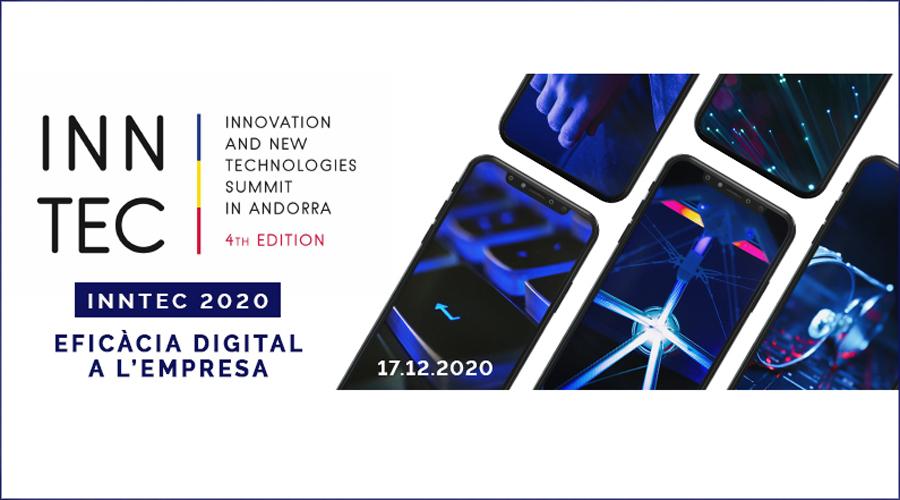 Cartell que anuncia la jornada Inntec del 2020