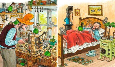 Interior del llibre Quan en Findus era petit i va desaparèixer