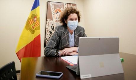 La ministra d'Afers Exteriors, Maria Ubach.