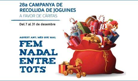 Cartell de la Campanya de recollida de joguines