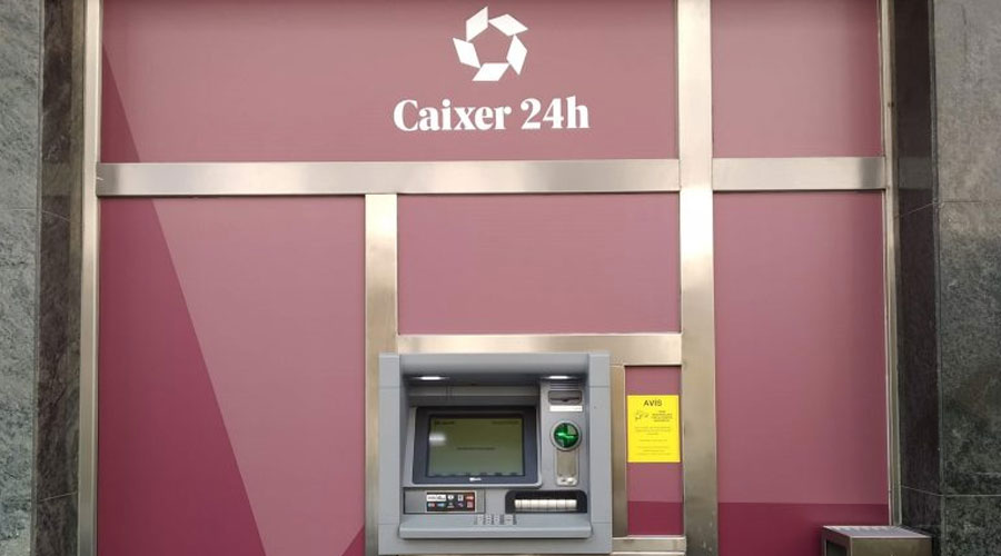 Un caixer d'Andorran Banking