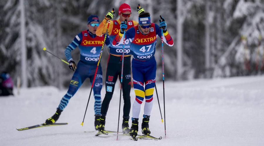 Irineu Esteve competint. Foto: NordicFocus