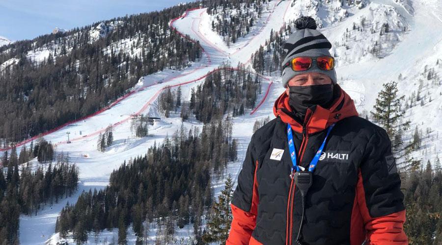 Toni Crespo, de delegat tècnic als Mundials d'esquí alpí de Cortina