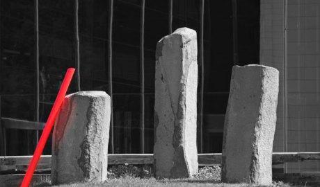Escultura a la seu central d'Anbank