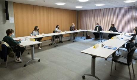 Una comissió de treball del Consell General dels Joves