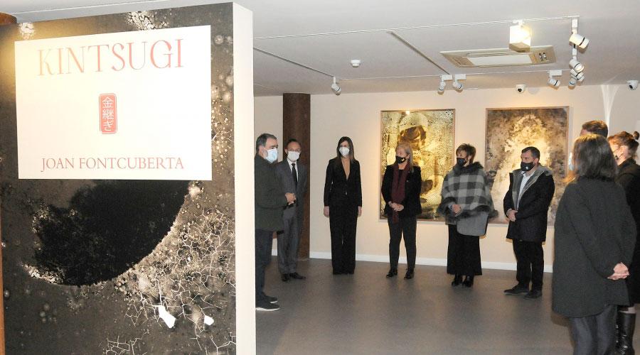 Inauguració de l'exposició de Fontcuberta