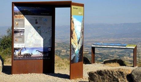 Uns plafons informatius en territori del Geoparc Orígens