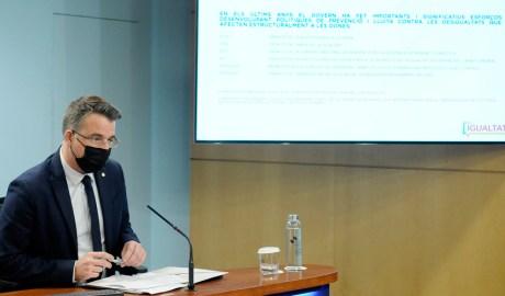 Marc Pons, secretari d'Estat d'Igualtat i Participació Ciutadana