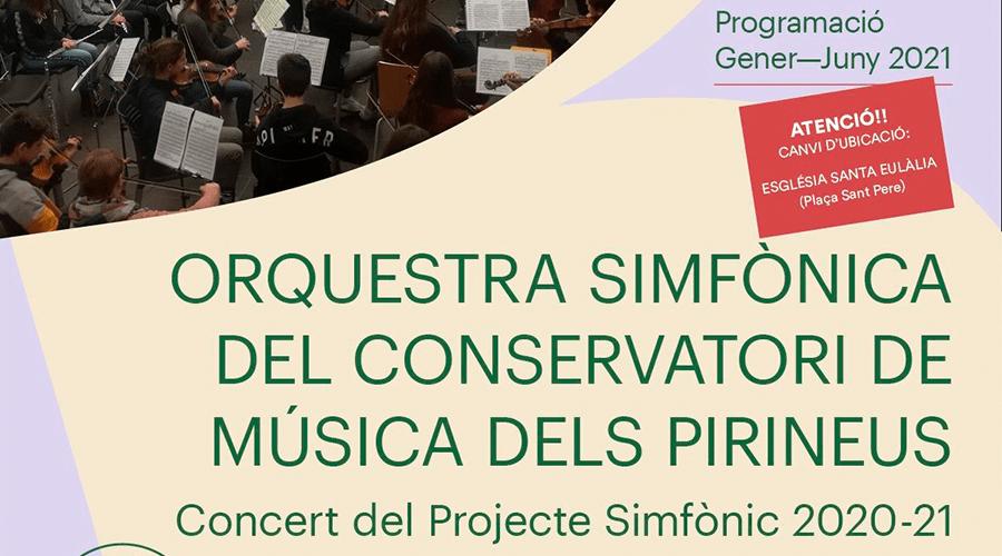 Concert simfònic a Berga i a la Seu d'Urgell