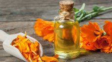 Calèndula en flor i en extracte