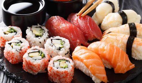 Diferents tipus de sushi