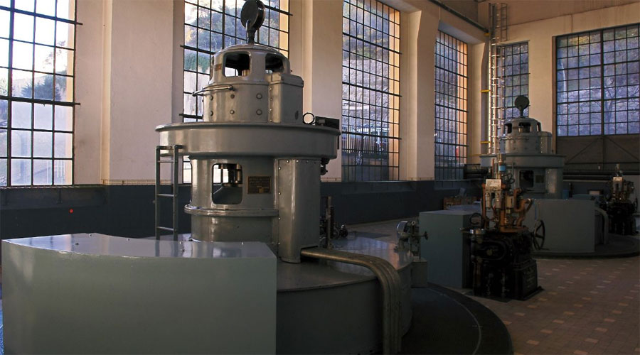 Sala de màquines de la Central de FEDA