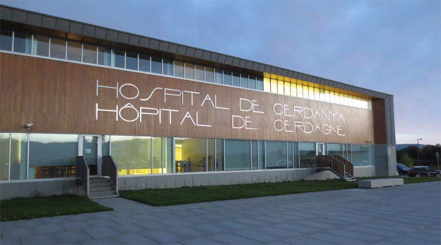 L'Hospital de Cerdanya (Foto: Xarxa Catalana Hospitals Sense Fum)