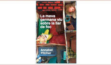 Portada del llibre La meva germana viu sobre la llar de foc