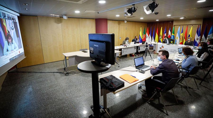 Una reunió en el marc de la Cimera Iberoamericana