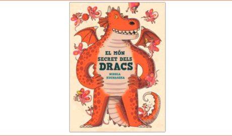 """Portada del llibre infantil """"El món secret dels dracs"""""""