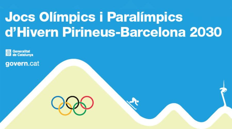Imatge de la Candidatura Pirineus-Barcelona per als Jocs d'hivern del 2030