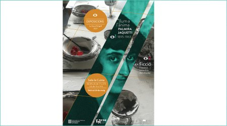 Cartell de l'exposició de Palmira Jaquetti
