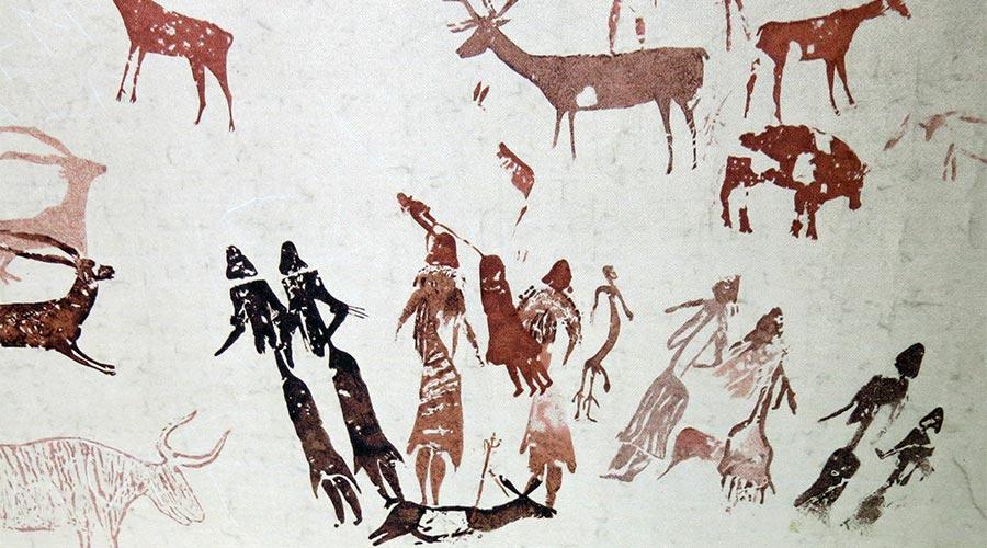 Pintura rupestre del Cogul