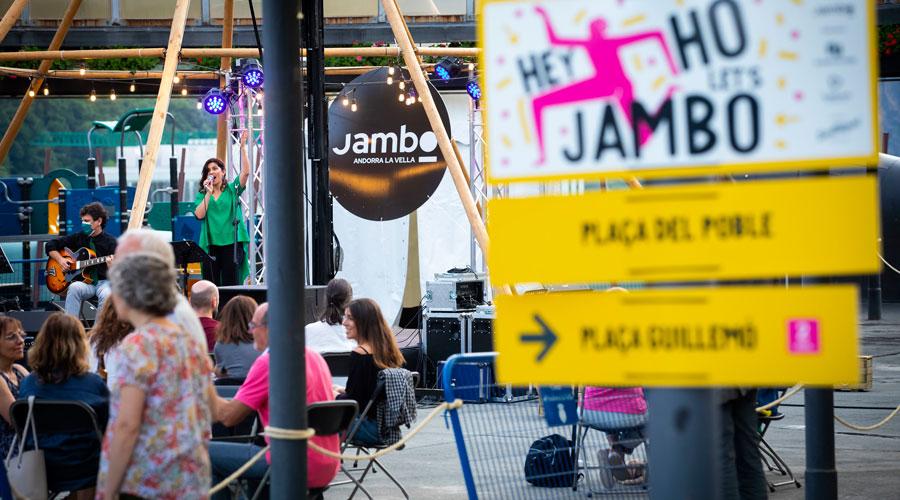 Un concert del Jambo Street Music del 2021