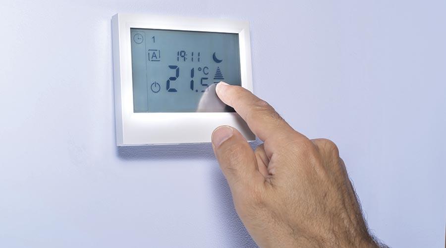 Control de l'aire condicionat